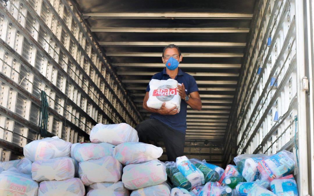 Novas remessa de doações é entregue para comunidades