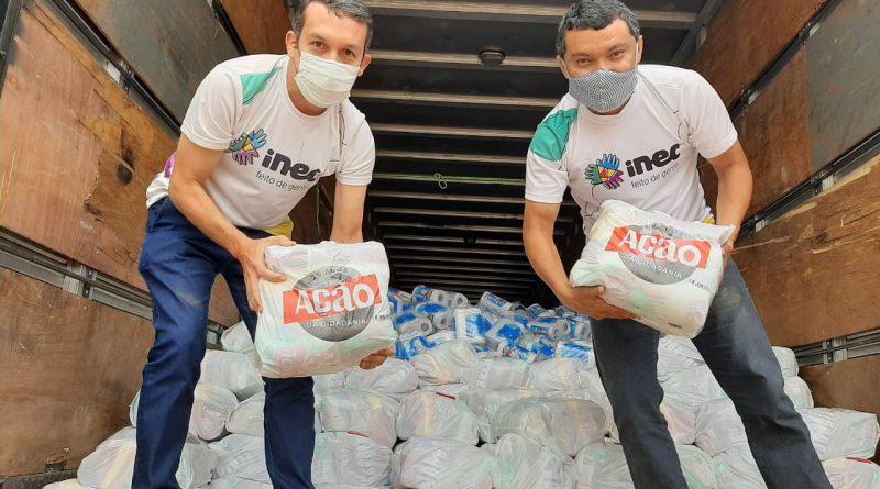 Mais de 490 toneladas de alimentos são distribuídas