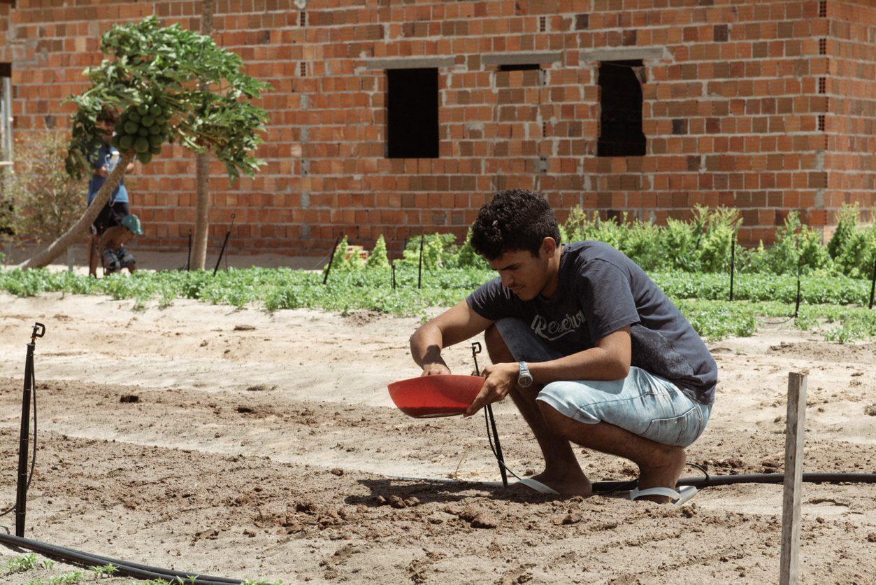Agricultor Agroamigo Água
