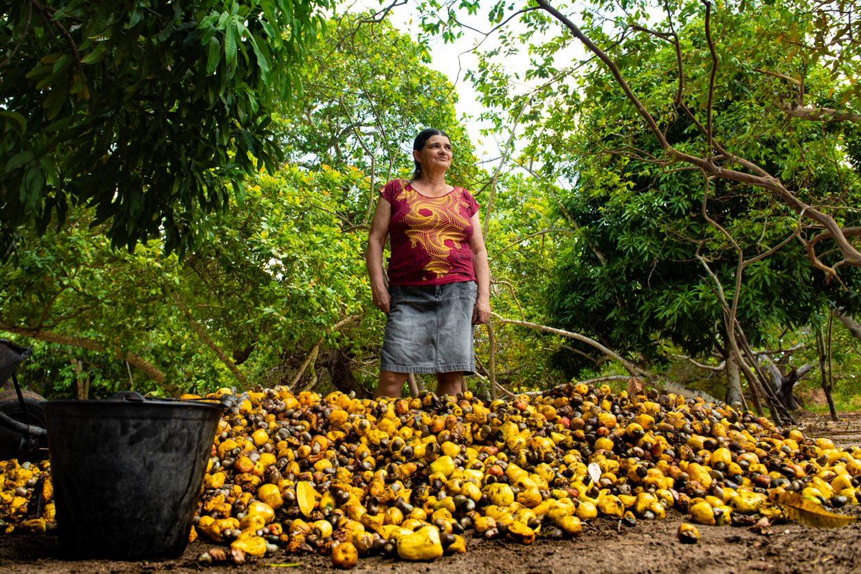 Agricultora Agroamigo Água