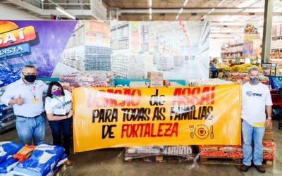 Assaí Atacadista faz doação para a campanha Brasil Sem Fome.